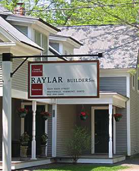 Front of RayLar Builders Office